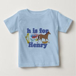 H está para Henry Tshirt