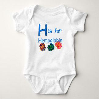H está para la hemoglobina tshirt