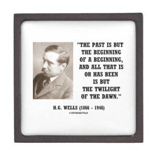 H.G. El pasado de los pozos es solamente principio Caja De Recuerdo De Calidad