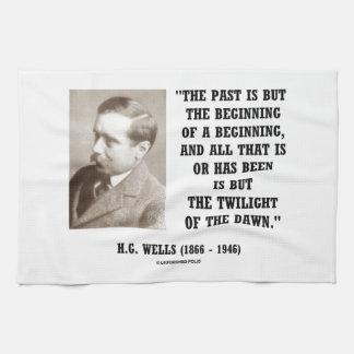 H.G. El pasado de los pozos es solamente principio Toalla