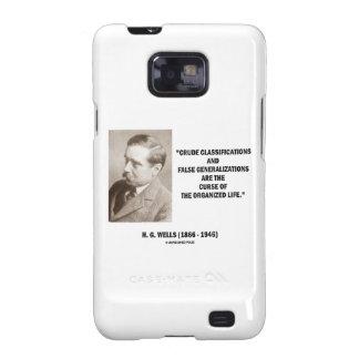 H.G. Vida falsa de la maldición de las Samsung Galaxy S2 Funda