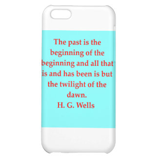 H. G. wells quote iPhone 5C Covers