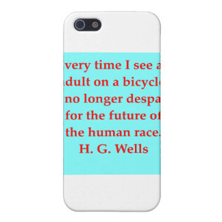 H. G. wells quote iPhone 5 Case