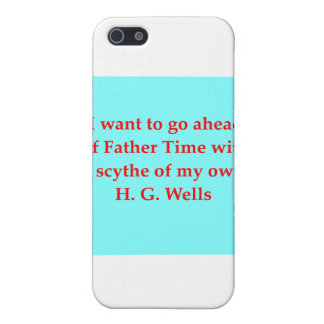H. G. wells quote Cover For iPhone 5