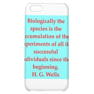 H. G. wells quote Cover For iPhone 5C