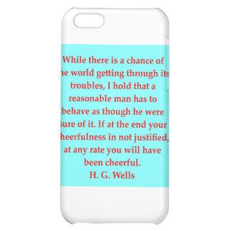 H. G. wells quote iPhone 5C Cases