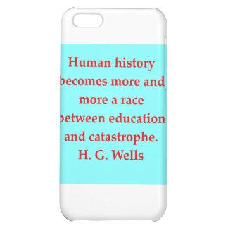 H. G. wells quote iPhone 5C Case