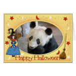 h-giant-panda-005 greeting card