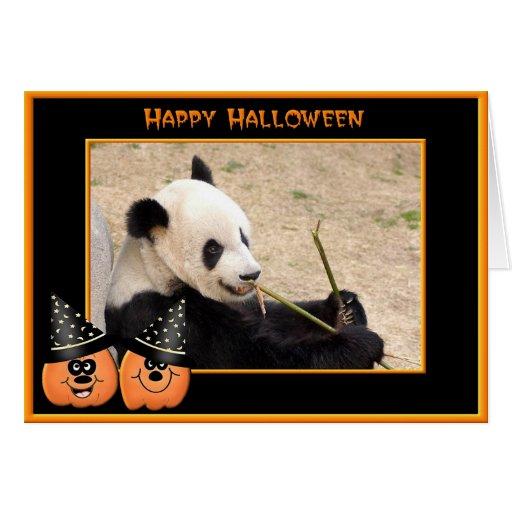 h-giant-panda-015 greeting card