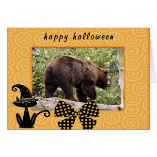 h-grizzly-bear-006 greeting card