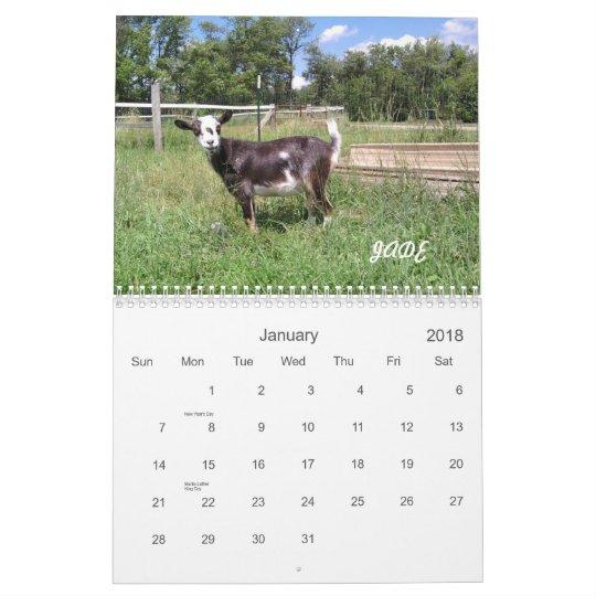 H.H. Garden Goats 2010 Calendar