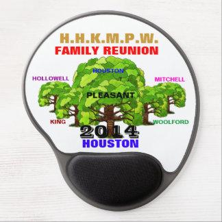 H.H.K.M.P.W.  FAMILY REUNION MOUSEPAD White Gel Mouse Mats
