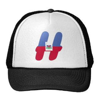 H (Haiti) Monogram Mesh Hats