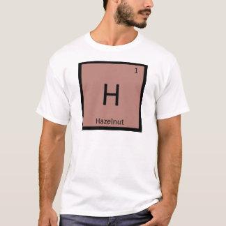 H - Hazelnut Nut Chemistry Periodic Table Symbol T-Shirt
