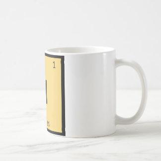 H - Hurdles Track and Field Chemistry Symbol Coffee Mug