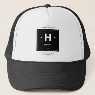 H, Hydrogen (Chemical Elements) Trucker Hat