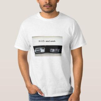 H.I.D. and seek Evo XI and STI T Shirt