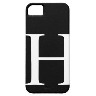 H inicial iPhone 5 fundas
