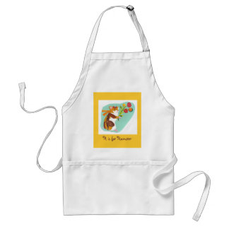 H is for Hamster Adult Apron