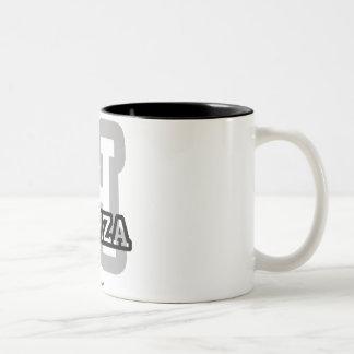 H is for Hamza Two-Tone Coffee Mug
