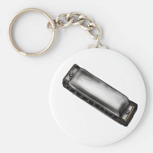 H is for Harmonica Keychains