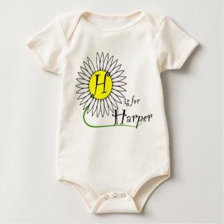 H is for Harper Daisy Bodysuit