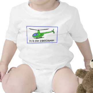 H is for helicopter shirt