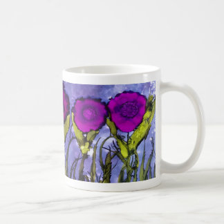 H is for Heliotrope alphabet art mug