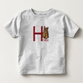 H is for Horse T-shirt