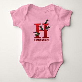 H is for Hummingbird Tee Shirt
