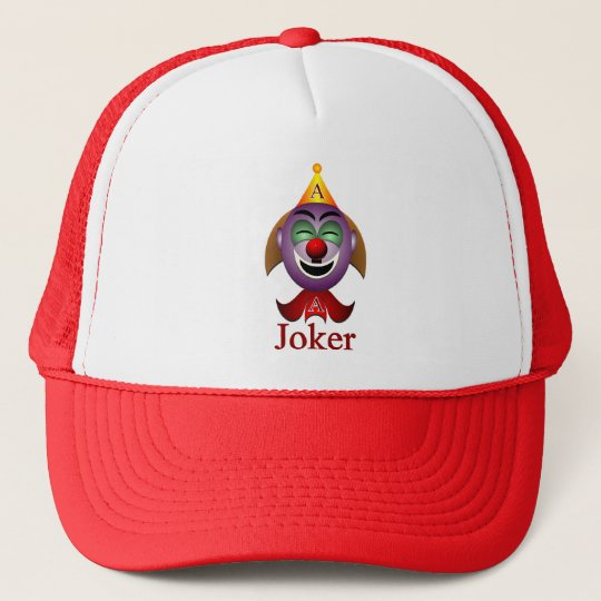 h_joker trucker hat