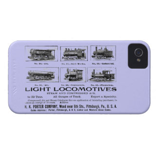 H K Porter & Co.Light Locomotives iPhone 4 Case