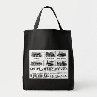 H K Porter & Co.Light Locomotives Tote Bag