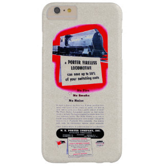 H.K. Porter Fireless Steam Locomotive 1943 Barely There iPhone 6 Plus Case