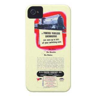 H.K. Porter Fireless Steam Locomotive 1943 iPhone 4 Case