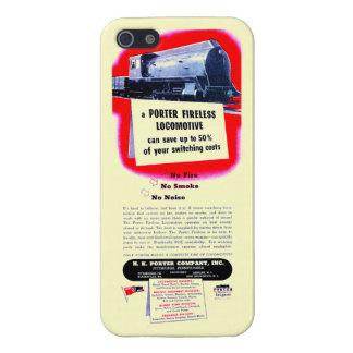 H.K. Porter Fireless Steam Locomotive 1943 iPhone SE/5/5s Case