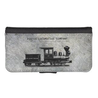 H K Porter Locomotive Company Class B-T4 iPhone SE/5/5s Wallet