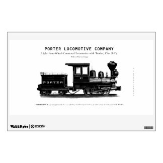 H K Porter Locomotive Company Class B-T4 Wall Sticker