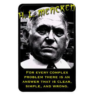 H.L. Mencken en el orden público Iman De Vinilo