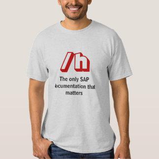 /h, la única documentación de SAP que importa Poleras