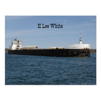 H Lee White post card