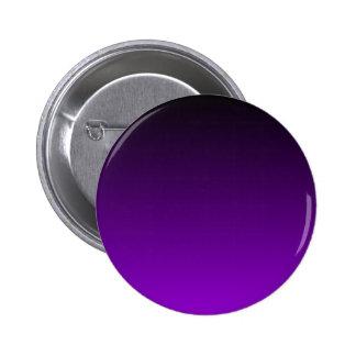 H Linear Gradient - Black to Violet Pinback Buttons