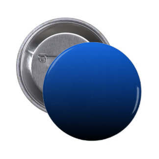 H Linear Gradient - Blue to Black Pinback Button