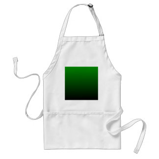 H Linear Gradient - Green to Black Apron