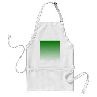 H Linear Gradient - Green to White Aprons