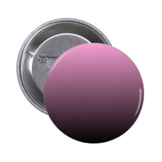 H Linear Gradient - Pink to Black Pinback Button