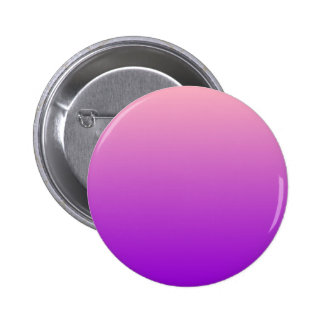 H Linear Gradient - Pink to Violet Pinback Button
