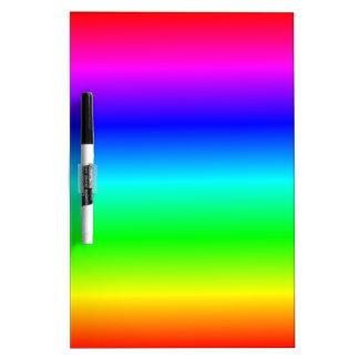 H Linear Gradient - Rainbow Dry Erase Boards