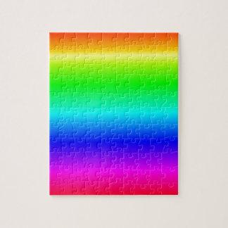 H Linear Gradient - Rainbow Jigsaw Puzzle