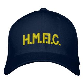 H.M.F.I.C. EMBROIDERED BASEBALL HAT